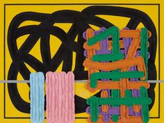 JONATHAN LASKER    The Charisma of Wild Dreams, 2012