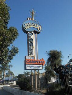 Ben Key Pools Anaheim, California