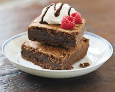 Check out this delicious Brownies recipe, and other great recipes, from American Heritage Chocolate! #ChocolateHistory #Spon
