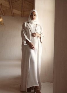 Abaya Fashion, Muslim Fashion, Modest Fashion, Girl Fashion, Fashion Outfits, Fasion, Modest Wear, Modest Outfits, Cute Outfits