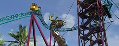 AMUSEMENT ATTRACTION! Cobra's Curse Roller Coaster Teaser w/ POV Clips - Busch Gardens Tampa 2016 | Jerry's Hollywoodland Amusement And Trailer Park