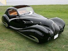1936 Delahaye 135 Competition Court Figoni et Falaschi Coupe.
