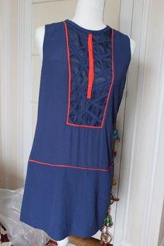 283826195f Project Alabama Coral and Blue Mod light-weight Summer Dress  PINK Pink  Dress