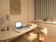 Study Room Decor, Bedroom Decor, Minimalist Room, Japanese Interior, Interior Decorating, Interior Design, Aesthetic Room Decor, House Rooms, My Room