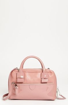 MARC JACOBS Rosewood Pink Pastel Patent Leather Crossbody