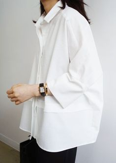 oversize womens clothing casual look in white shirt – Mode für Frauen Look Fashion, Womens Fashion, Fashion Tips, Trendy Fashion, White Fashion, Classic Fashion Style, Fashion Hacks, Jeans Fashion, Trendy Style