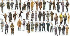 WWII UNIFORMS 5 by FVSJ on DeviantArt