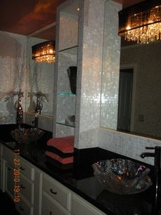 Linda Henderson - contemporary - bathroom - other metro - by Linda Henderson Interiors