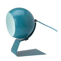 Niebieska lampa stołowa Red Cartel Cameron