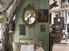 Recently published, The New Eighteenth Century Home is the third installment of the French decor series. Michele Lalande and Gilles Trillard, the author-photographer team,  feature 29 new homes.