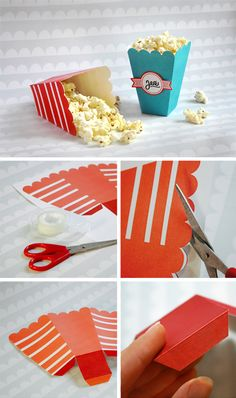 popcornaski | popcorn | tulostettava | askartelu | lapset | paperi | kartonki | synttärit | syntymäpäivät | juhlat | DIY ideas | kid crafts | paper | cardboard | printable | free | Pikku Kakkonen