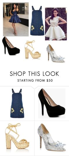 """""""Short Homecoming Dresses"""" by simidress ❤ liked on Polyvore featuring Topshop, Boohoo, Alchimia Di Ballin and Jimmy Choo"""