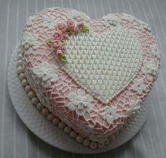 Torta corazones