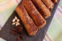 Sonja zeigt uns auf dem Blog wie man leckere Apfelröllchen zubereitet! Mit wenigen Zutaten kann man so etwas leckeres zaubern!:) #apple #toast #zimt