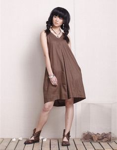 KL045D Greetings/Womens Clothing Plus Size Petite Maternity Day Party Prom Casual Handmade Summer Cool Linen Cotton Coffee Dress by KelansArtCouture on Etsy https://www.etsy.com/listing/73796994/kl045d-greetingswomens-clothing-plus