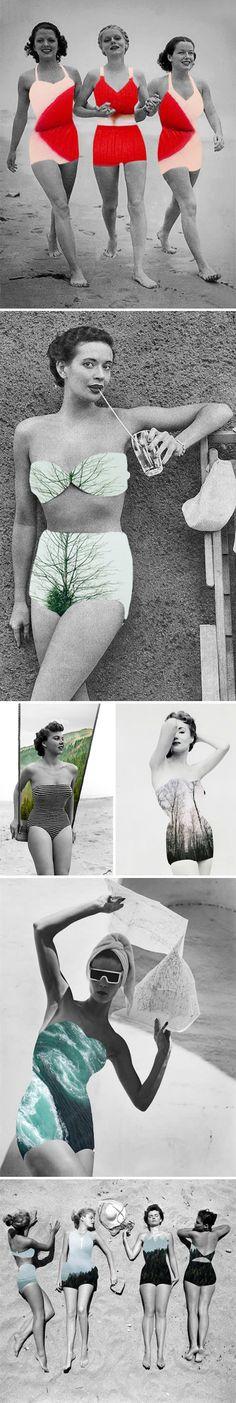 collages by merve ozaslan