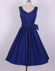 Audrey Hepburn 50s Pinup Swing dress AH2010E [AH2010E] - £26.99 : Queen of Holloway, Dressing Shop