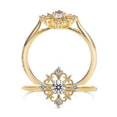 """""""愛おしい""""という意味を持つ「カリーノ」。""""幸せの種から、優しい愛の花が咲くように…""""K.uno is a jewelry brand in Japan. We create bridal, fashion as well as custom made jewelry. ◆HP→http://www.k-uno.co.jp/ ◆MAIL→k-uno@k-uno.co.jp"""