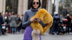 Best Fur Stoles for Winter, Outfit Ideas | StyleCaster