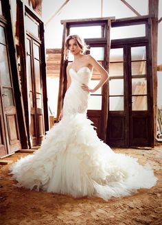 Bridal Gowns, Wedding Dresses by Lazaro - Style LZ3559