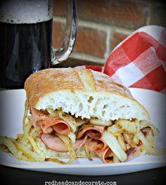 Fried Bologna Sandwich Secret - Redhead Can Decorate
