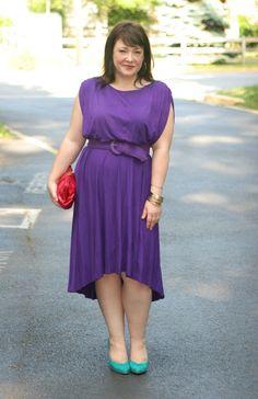 Wardrobe Oxygen: High-Low dress