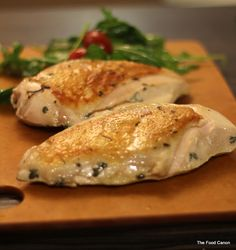 Sous Vide - Chicken Breast in Miso Butter Sauce