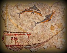 Image result for μινωικα δελφίνια