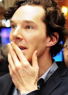 Benedict Cumberbatch at the South Bank Sky Arts Awards 2013