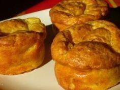 Recette Entrée : Muffins au parmesan et aux courgettes par 1, 2, 3, 4 filles aux fourneaux