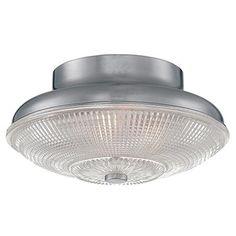 Prismatic Glass Ceiling Light