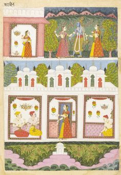 AN ILLUSTRATION DEPICTING THE CASTES OF WOMEN | lot | Sotheby's