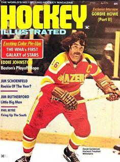 Derek Sanderson Philadelphia Blazers Stars Hockey, Women's Hockey, Hockey Stuff, Jim Rutherford, Hockey Pictures, Boston Bruins Hockey, Philadelphia Sports, Sports Magazine, Boston Sports