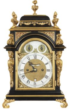 Benjamin Gray & Justin Vulliamy | Bracket Antique Clock Benjamin Gray & Justin Vulliamy No. 228 SOLD A fine small and rare mid 18th century quarter repeating gilt mounted ebony veneered bracket clock by this famous partnership who were clockmakers to the Royal family.