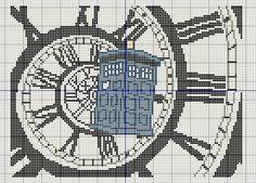 Buzy Bobbins: Doctor Who intro - Peter Capaldi version - cross stitch design