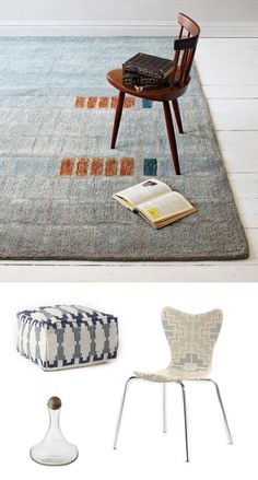 Navajo-rug, West Elm collaboration with Alyson Fox