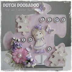 Dutch Doobadoo Softboard Puzzelstukjes door Kim