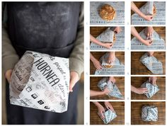Brand identity and eco-packaging design for bakery products.