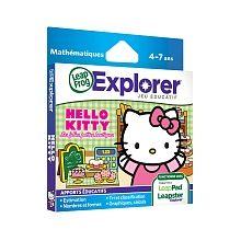 LeapFrog - Explorer Game Cartridge: Hello Kitty: SweetLittle Shops French Edition