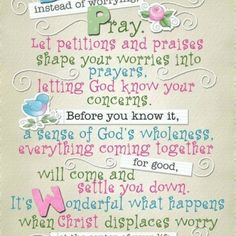 Ps. 37 is about not worrying! We should all get this picture and lean on God!