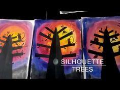 SILHOUETTE TREES | krokotak