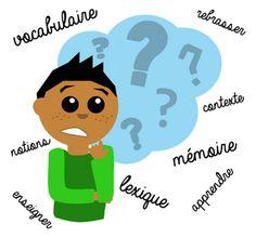 Enseigner le vocabulaire : ma réflexion...