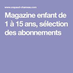 Le site crapaud-chameau sélectionne le TétrasLire parmi les meilleurs magazines pour les 8-12 ans ! Abonnez-vous sur www.albaverba.fr