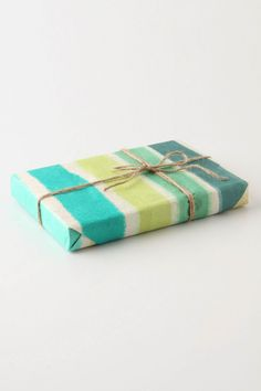 Anthropologie Wrapping Paper - Painted Stripes