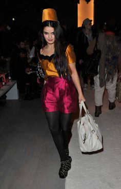 Bip Ling, veryfirstto.com Luxforecast Connoisseur, at London Fashion Week