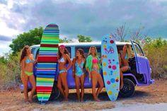 Kombi e surf, combinação perfeita.