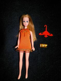 Topper Dawn Doll: Dawn in Orange Mini