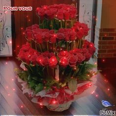 """Vyhledávání """"roses"""" o PicMix Beautiful Red Roses, Beautiful Bouquet Of Flowers, Beautiful Birds, Beautiful Flowers, Beautiful Love Pictures, Beautiful Gif, Love Images, Blue Flower Wallpaper, I Wallpaper"""