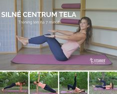 Core tréning iba na 7 minút! Health Fitness, Tv, Television Set, Fitness, Health And Fitness, Television