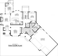 Unique House Plans With Open Floor Plans